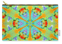 Cosmic Spiral Kaleidoscope 41 Carry-all Pouch