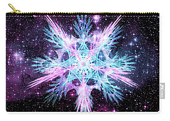 Cosmic Starflower Carry-all Pouch by Shawn Dall