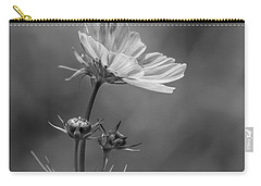 Carry-all Pouch featuring the photograph Cosmo Flower Reaching For The Sun by Debbie Green