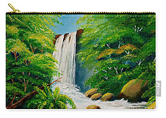 Costa Rica Waterfall Carry-all Pouch