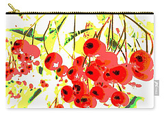 Cotoneaster Carry-all Pouch by Barbara Moignard