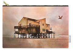 Cottage Of The Past Carry-all Pouch by Betsy Knapp