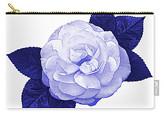 Carry-all Pouch featuring the photograph Cottage Rose by Jane McIlroy