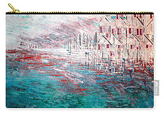 Cottages On The Bay  Carry-all Pouch by George Riney
