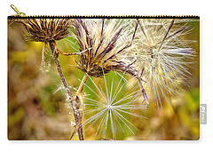 Carry-all Pouch featuring the photograph Cotten Grass by Jim Thompson