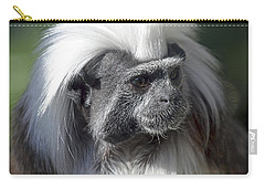 Cottontop Tamarin Saguinus Oedipus Carry-all Pouch