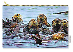 Couch Critters Carry-all Pouch by Kristin Elmquist