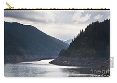 Carry-all Pouch featuring the photograph Cougar Reservoir by Belinda Greb