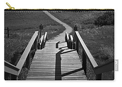 Coulee Stairs Carry-all Pouch by Donald S Hall