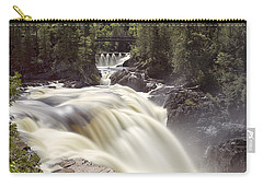 Coulonge Falls Carry-all Pouch by Eunice Gibb