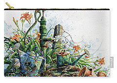 Carry-all Pouch featuring the painting Country Charm by Hanne Lore Koehler