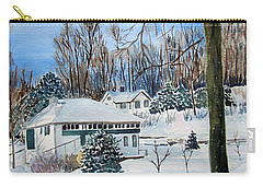 Country Club In Winter Carry-all Pouch