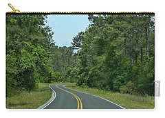 Carry-all Pouch featuring the photograph Country Road by Victor Montgomery