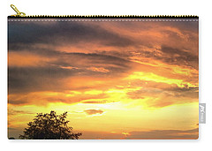 Country Scene From Hilltop To Hilltop Carry-all Pouch
