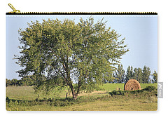 Carry-all Pouch featuring the photograph Country Scene by Penny Meyers