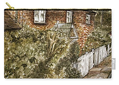 Old English Cottage Carry-all Pouch by Teresa White