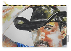 Country Singer Tim Mcgraw 02 Carry-all Pouch
