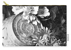 Country Summer - Bw 03 Carry-all Pouch by Pamela Critchlow