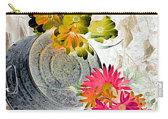 Country Summer - Photopower 1509 Carry-all Pouch by Pamela Critchlow