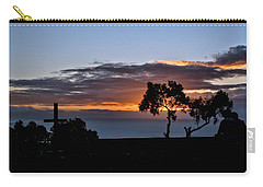 Carry-all Pouch featuring the photograph Couple by Michael Gordon