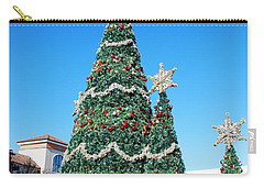 Courtyard Christmas Carry-all Pouch