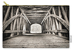Covered Bridge B N W Carry-all Pouch