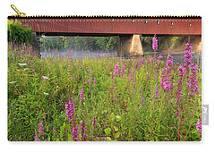 Covered Bridge West Cornwall Carry-all Pouch