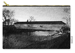 Covered Bridge Elizabethton Tennessee C. 1882 Carry-all Pouch