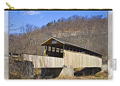 Covered Bridge In Pa. Carry-all Pouch by Walter Herrit