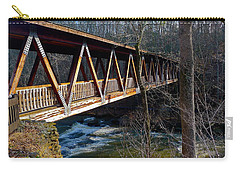 Covered Bridge In Roswell Carry-all Pouch