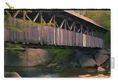 Covered Bridge Carry-all Pouch by Jeff Kolker