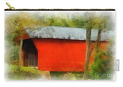 Covered Bridge - Sinking Creek Carry-all Pouch