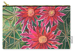 Coville Barrel Blossoms Carry-all Pouch