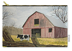 Cow And Barn Carry-all Pouch