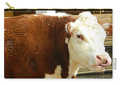 Cow Lickin' Good Carry-all Pouch