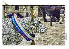Cow Parade N Y C  2000 - Live Stock Cow Carry-all Pouch