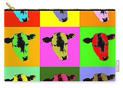 Cow Pop Art Carry-all Pouch