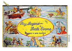 Cowboy Lunchbox Carry-all Pouch by Ed Weidman