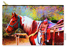 Cowgirl Up Carry-all Pouch