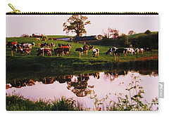 Cows In The Canal Carry-all Pouch