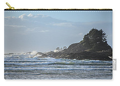 Cox Bay Afternoon Waves Carry-all Pouch by Roxy Hurtubise