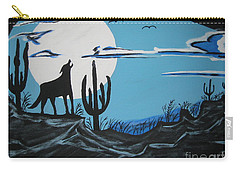 Coyote Carry-all Pouch by Jeffrey Koss