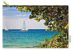 Cozumel Sailboats Carry-all Pouch
