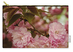 Carry-all Pouch featuring the photograph Crab Apple Blossoms by James C Thomas