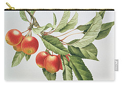 Crab Apples Carry-all Pouch by Sally Crosthwaite