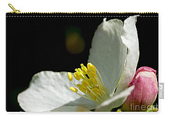 Crabapple White Carry-all Pouch