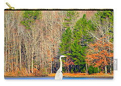 Crane And Color Carry-all Pouch