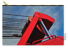Crane - Photography By William Patrick And Sharon Cummings Carry-all Pouch by Sharon Cummings