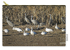 Cranes And Geese Carry-all Pouch