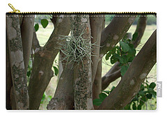 Carry-all Pouch featuring the photograph Crape Myrtle Growth Ball by Peter Piatt